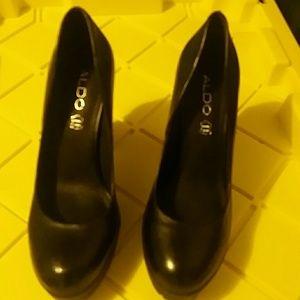 Aldo Block Heel Shoes